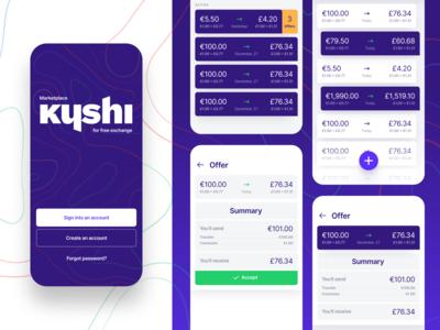 Kyshi - marketplace for free exchange
