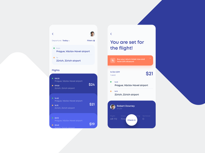 Flights Booking App Concept trips tickets booking flight search flight booking flight app airport air ui app mobile clean ios white