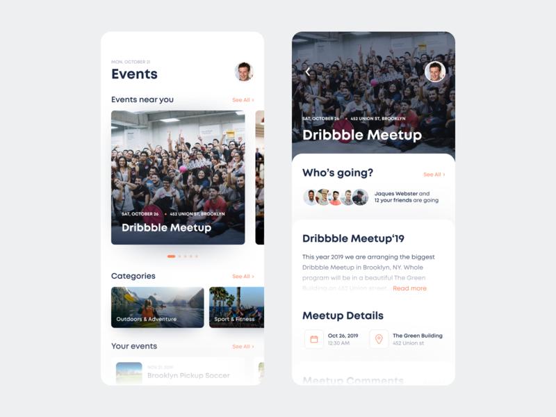 Meetup Mobile App