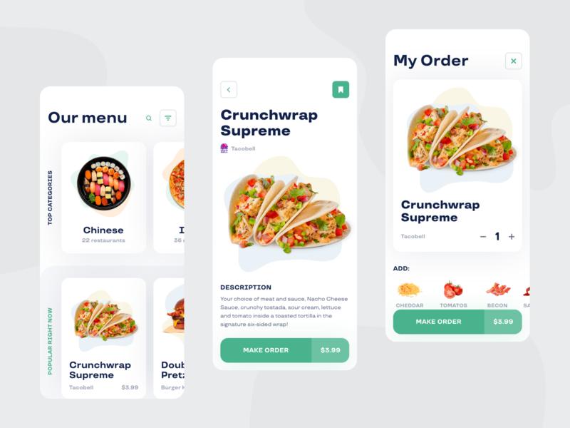 Online food-delivery platform