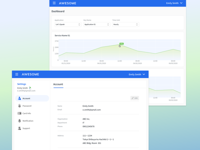 Data Analysis Platform home icons linegraph webdesign sidebar navigation menu settings profile minimal ia api graph dropdown dashboard data webapp analytics analysis account