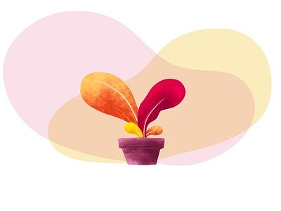 My First Digital Illustration nature design illustration