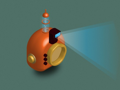 Isometric Particle Camera 3d camera