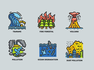 Climate Change 6 ICONS