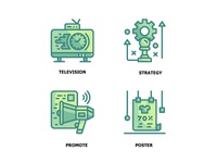 Marketing Twotone  Icon Set 2