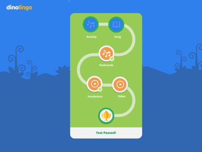 Education App Layout game education edtech