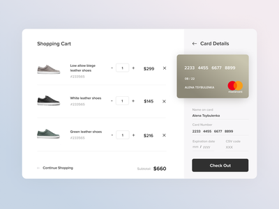 Credit Card Checkout shopping card payment creditcard checkout page checkout