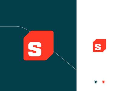 New logo concept iconset social media logogrid grid homepage desktop mobile responsive webdesign website mark 3d simple typography mark branding brand logo identity design