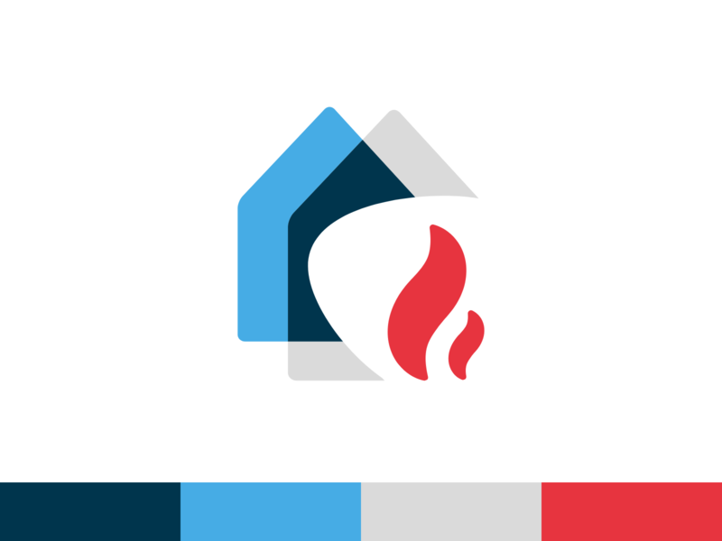 Logo MIT styleguide design simple branding logo identity design grid flame typography brand mark transparency house