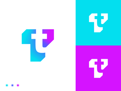 Transactie logo proposal letter construction guides grids neon symbol corporate graphicdesign branddesign grid simple typography mark idenity colorful 3d logodesigner logodesign logo