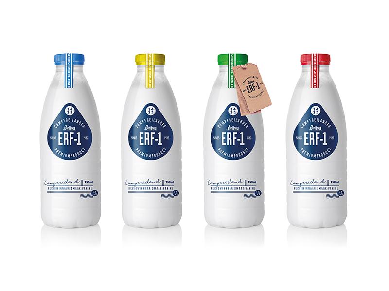 Erf-1 packaging design drink logo bottle milk packaging identity design branding