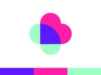 Logo sketch Heart & Cross