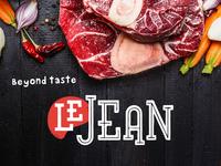 LeJean logo proposal