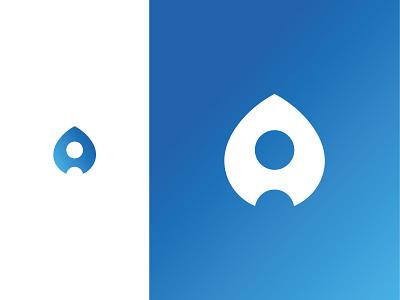 Old logo proposal (A-Rocket) rocket app a simple mark logo identity design branding brand arrow