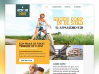 Simple homepage desktop