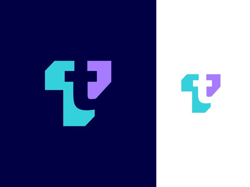 Transactie logo proposal vector mark branding 3d simple typography mark brand branding identity logo design