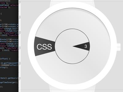 Mask Watch CSS3