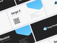 DeepVocal Cards Design