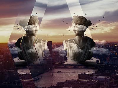 London london photo manipulation artdircetion