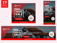 Home Banner Set (Real Estate)