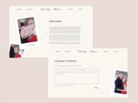 Charity + Aaron Wedding Website