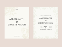 Invitation Suite | Aaron + Charity