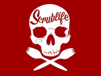 Scrublife Skull & Crossbones