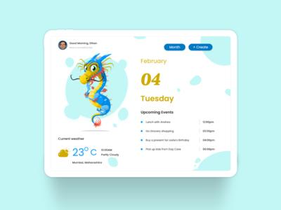 An Interactive Calendar - Day View