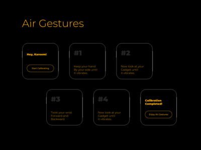 Air Gestures