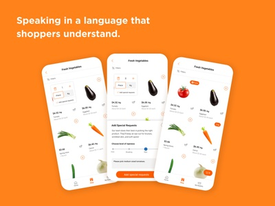 Delissio - Enhancing the Grocery Delivery Experience concept design product design app ux ui