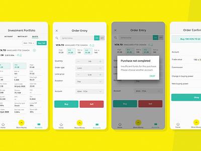 Company Values: Teachers & Learners app ui concept design