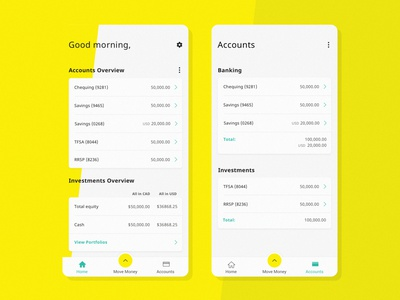 Company Values: Teachers & Learners app ui concept design