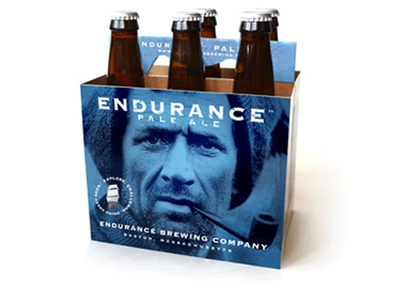 Endurance Brewing Co. package design tom crean pale ale beer