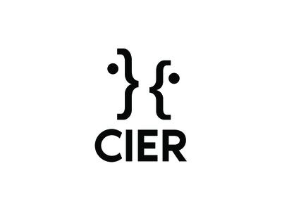CIER Logo Variant 2 simple minimal nonprofit branding logo