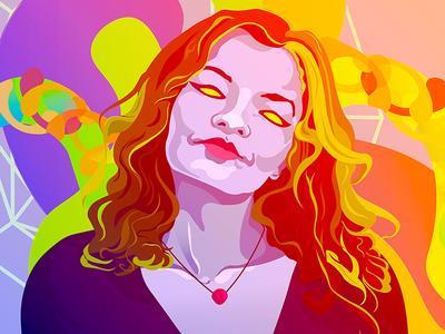 Stone Roots UK portrait illustrator music band promotional illustration