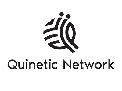 Qinetic Network - Logo Redesign bangladesh node tree minimal redesign logo networking management music