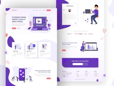 Agencypro Landing Page