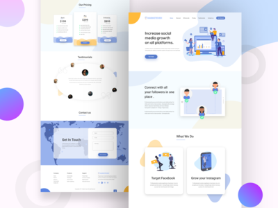 Agencypro Landing Page