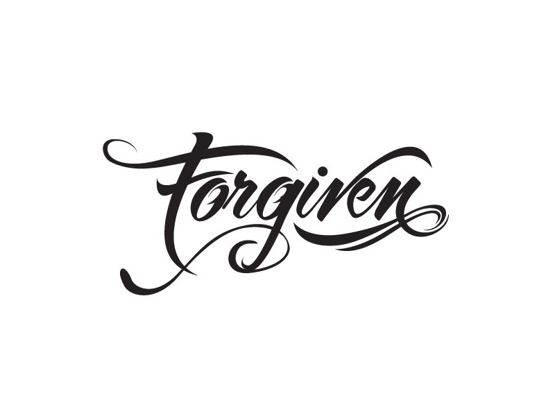 Forgiven tattoo design by seth sampson dribbble for Tattoo shops topeka ks