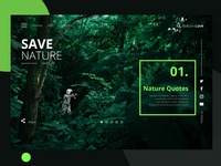 Nature Quotes Landing Page