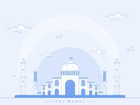 Taj Mahal Illustration :)