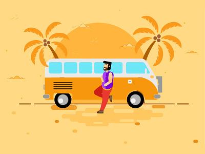 Goa Travelling Dreams Digital Art :)