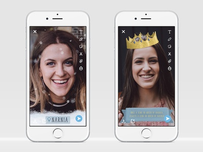 Concept Snapchat Filters
