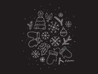 instagram highlight cover • winter