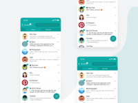 Oktos Messenger - Redesign Concept