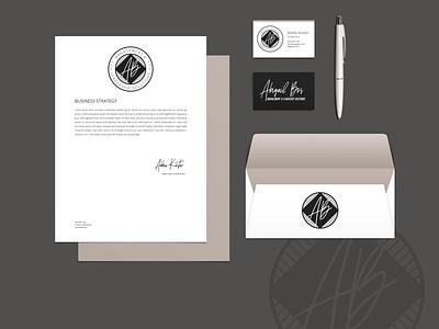 Abigail Bos Branding brand mockup mockup rebrand logo logo design branding