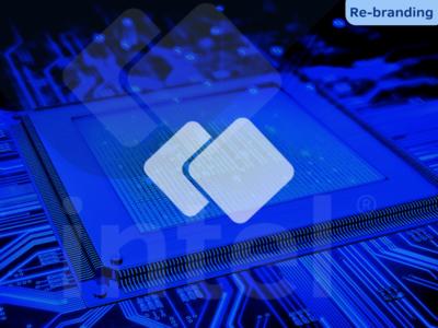 Intel • Re-branding ( logo design )