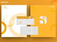 Orange Rebranding - Stationary