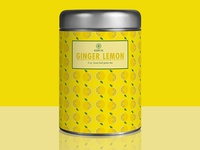Bloom tea tin - Lemon