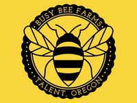 Busy Bee Farms logo concept